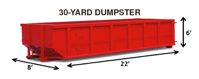 30 Yard Dumpster Rental
